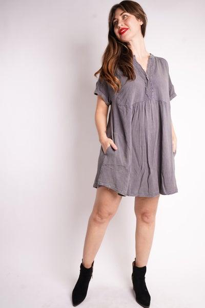Sweetness Tunic Dress, 2 Colors!