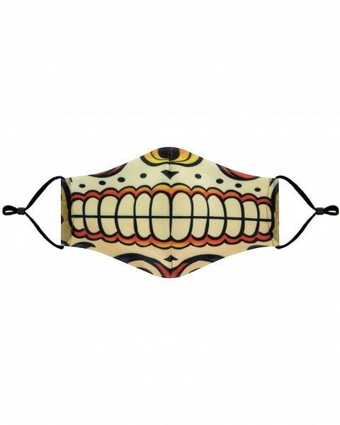 Sugar Skull Mouth Mask