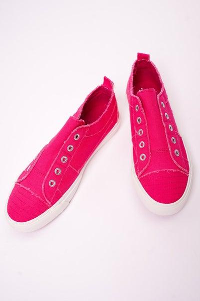Corkys Hot Pink Babalu Sneakers
