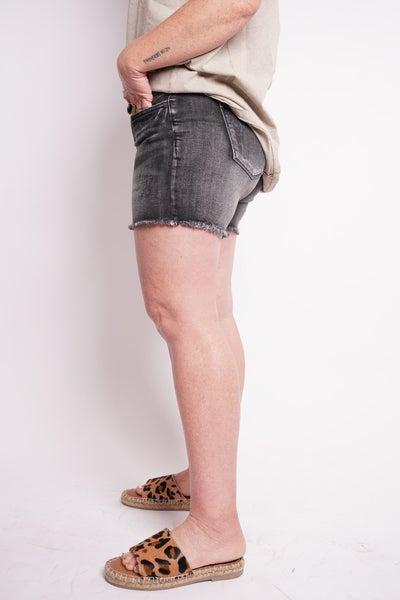 The BETTY Fray Hem Cut-Off Shorts By Judy Blue