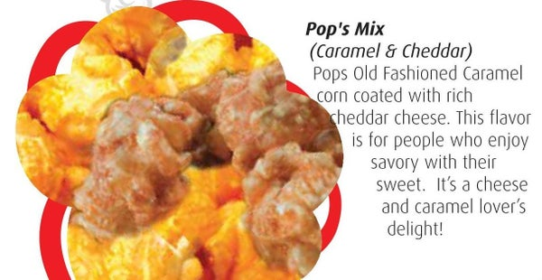 Pop's Mix Caramel And Cheddar Kettle Corn