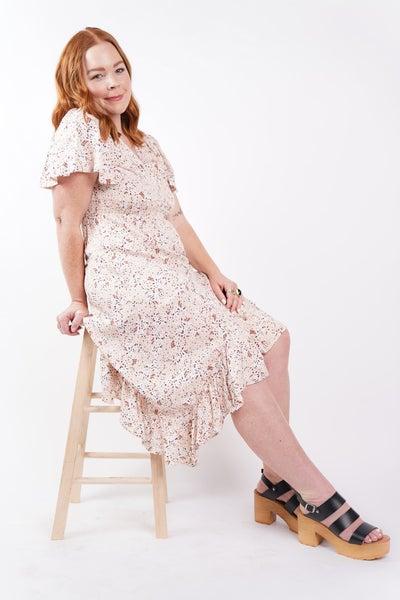 Wonderland Floral Midi Dress, 3 Colors!