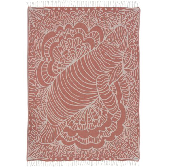 Terracotta Manatee Large Towel