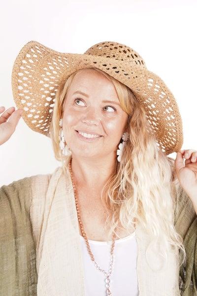 Straw Braided Floppy Fashion Sun Hat