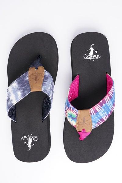 Corkys Bahama Mama Flip Flop, 2 Colors!