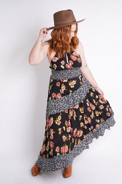 Summertime Halter Maxi Dress