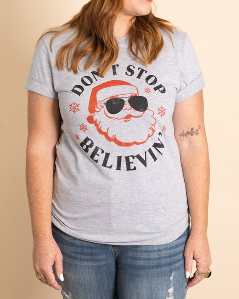 Don't Stop Believin' Graphic Tee