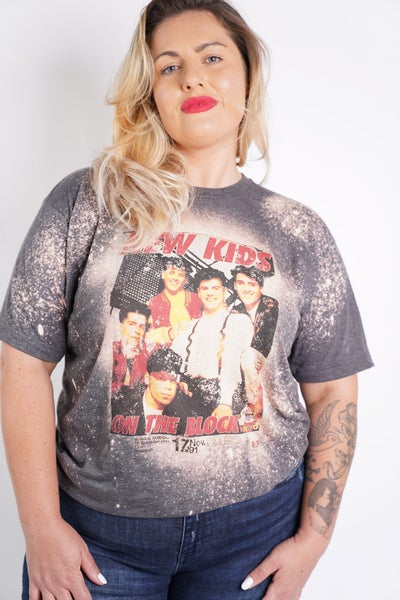 New Kids On The Block Graphic Band Tee