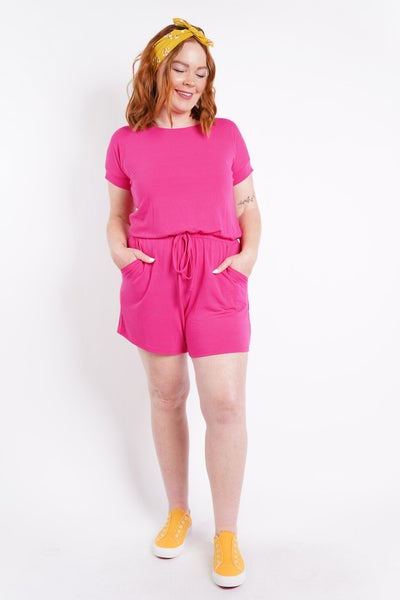 Beyond Comfort Romper, 6 Cute Colors!