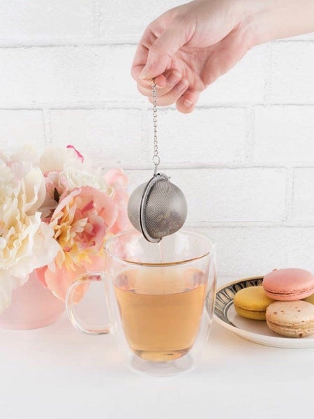 SMALL TEA INFUSER BALL - STAINLESS STEEL