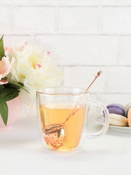 ROSE GOLD - HEART TEA INFUSER