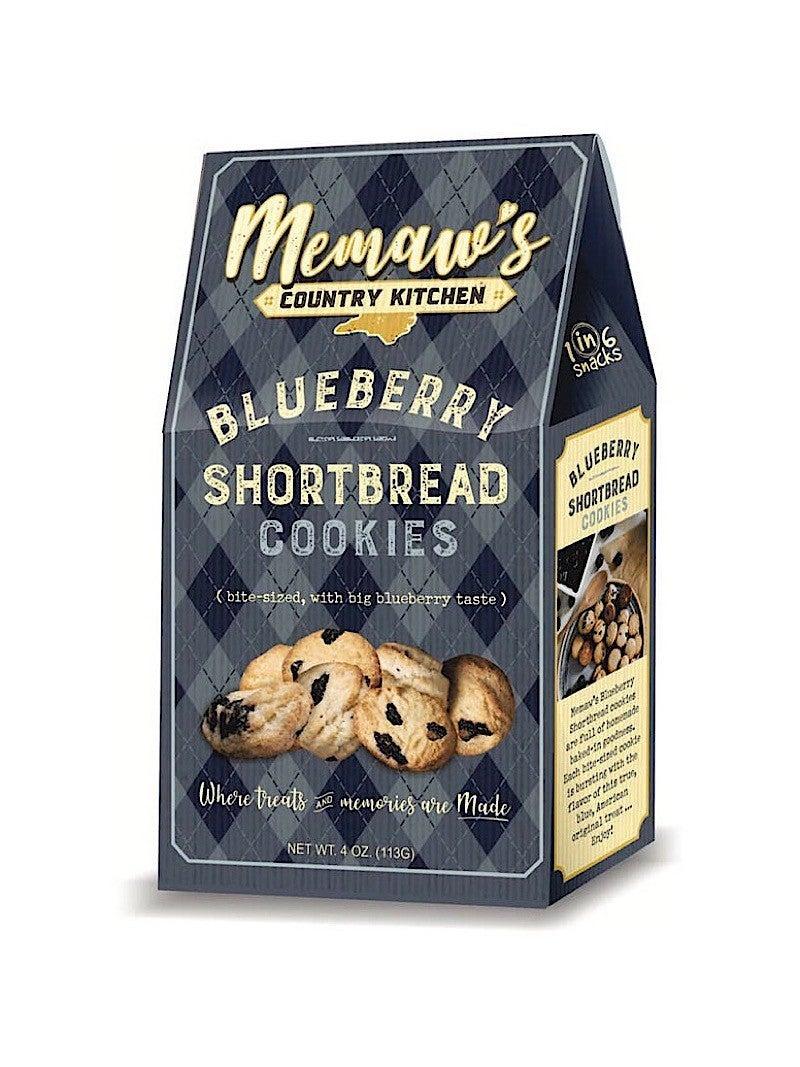 MEMAW'S BLUEBERRY SHORTBREAD COOKIES