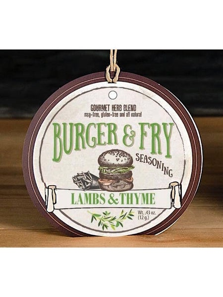 GOURMET BURGER & FRY HERB SEASONING