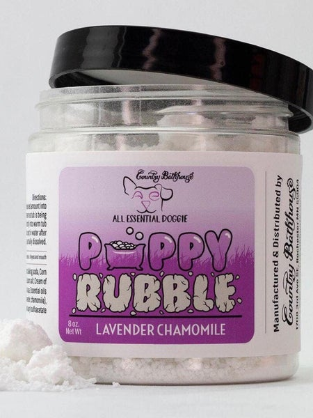 """COUNTRY BATHHOUSE - """" PUPPY RUBBLE"""" (ASSORTED SCENTS)"""