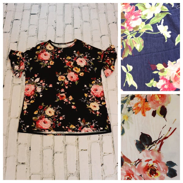 FLORAL KNIT TOP *Final Sale*