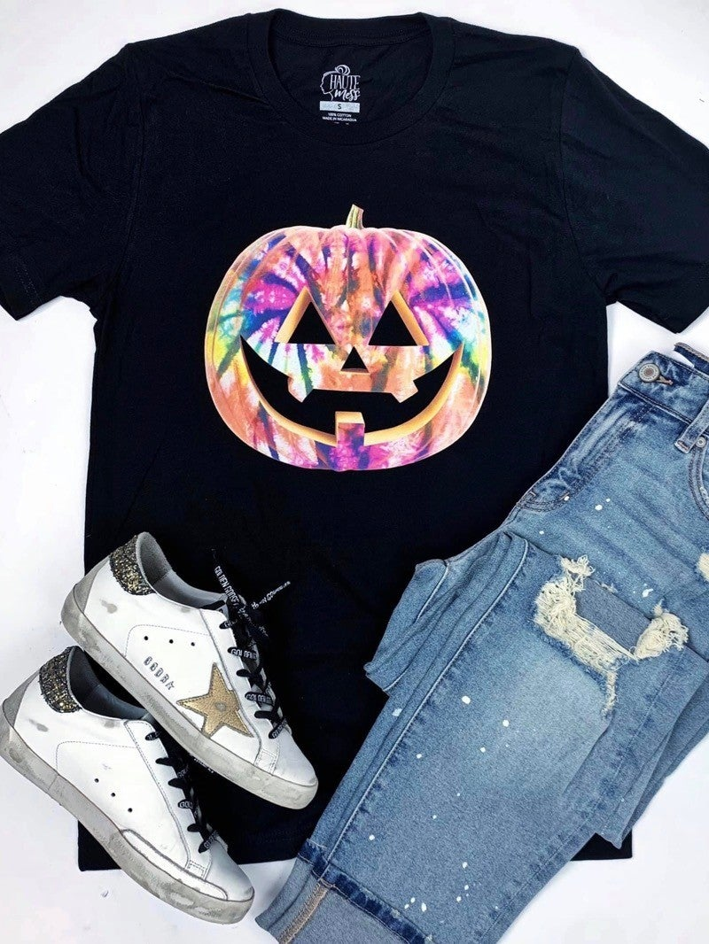 """GROOVY JACK-O-LANTERN"" - GRAPHIC T"