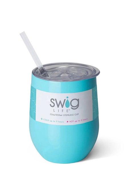 """SWIG LIFE"" - WINE CUP 12 OZ"