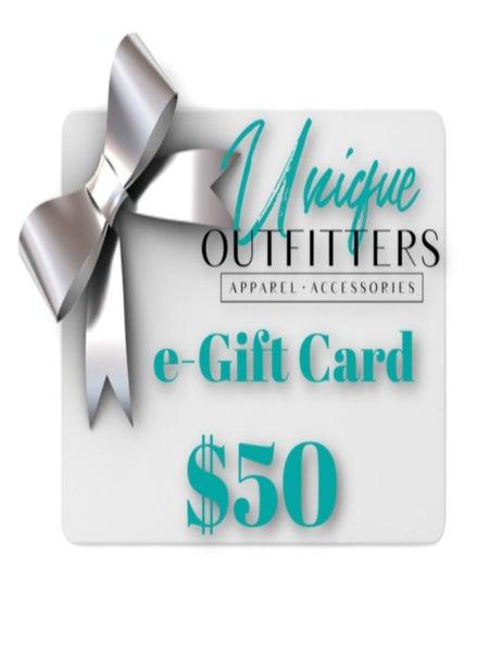 $50 UO E-GIFT CARD