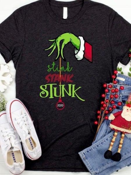 STINK STANK STUNK GRAPHIC T