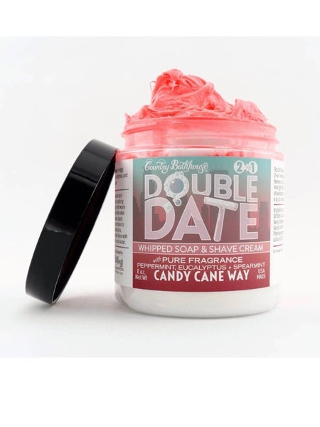 DOUBLE DATE WHIPPED SOAP/SHAVE