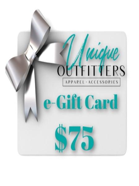 $75 UO E-GIFT CARD