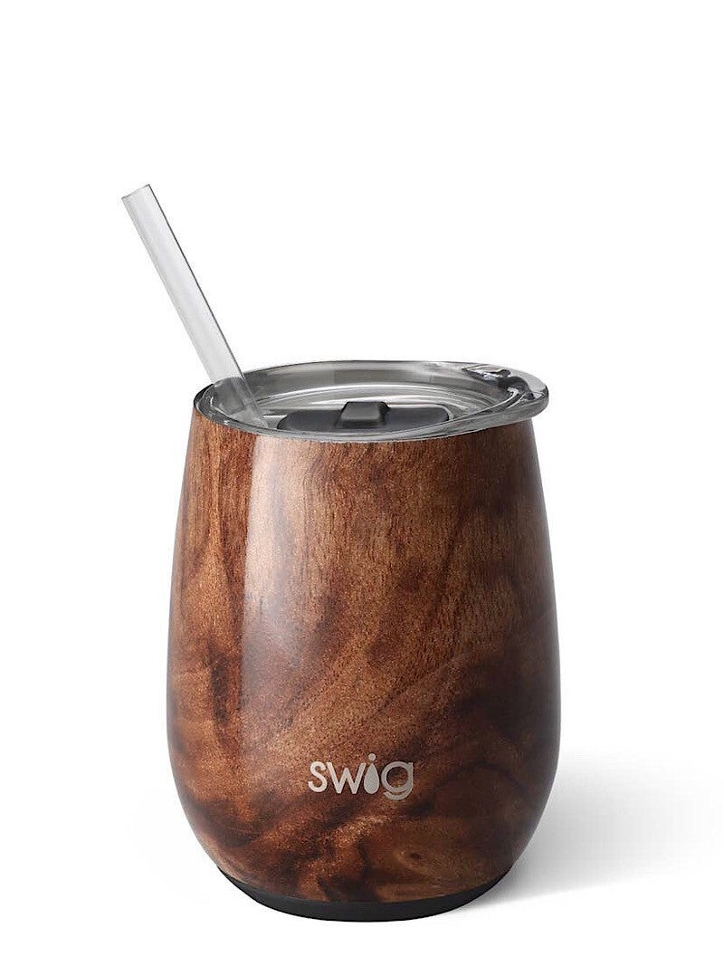 """SWIG LIFE"" - SIGNATURE STEMLESS ""PRINTED"" 14 OZ CUP"
