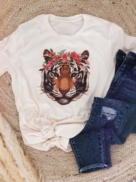TIGER QUEEEN GRAPHIC TEE