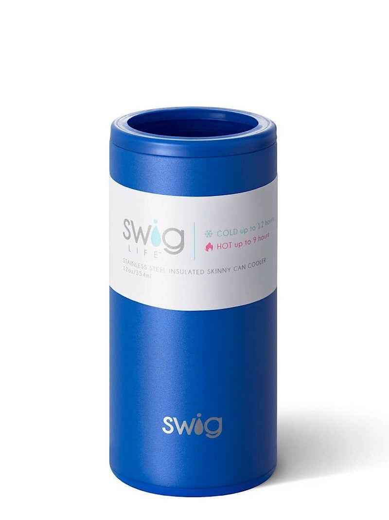"""SWIG LIFE"" - SKINNY CAN 12 OZ COOLER"