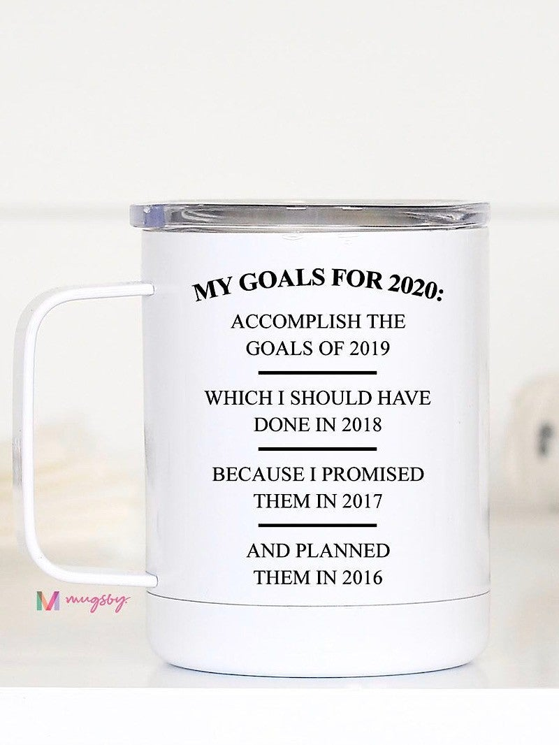 """TRAVEL CUP - """"MY GOALS FOR 2020"""""""
