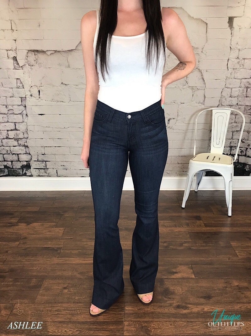FITTED TROUSER - JUDY BLUE