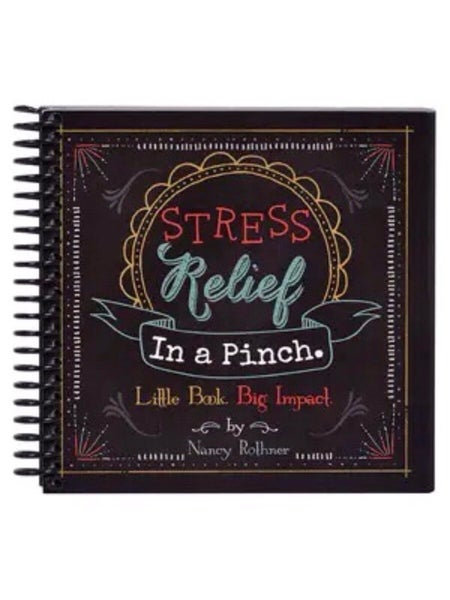 """PINCH ME"" STRESS RELIEF IN A PINCH BOOK"