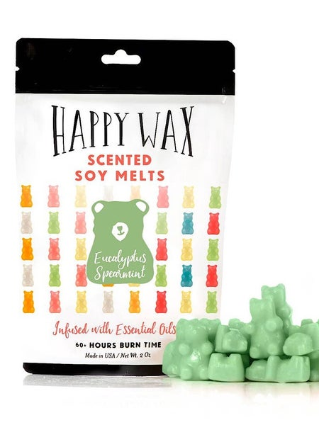 "2 OZ- VARIOUS SCENTS WAX MELTS BY ""HAPPY WAX"""