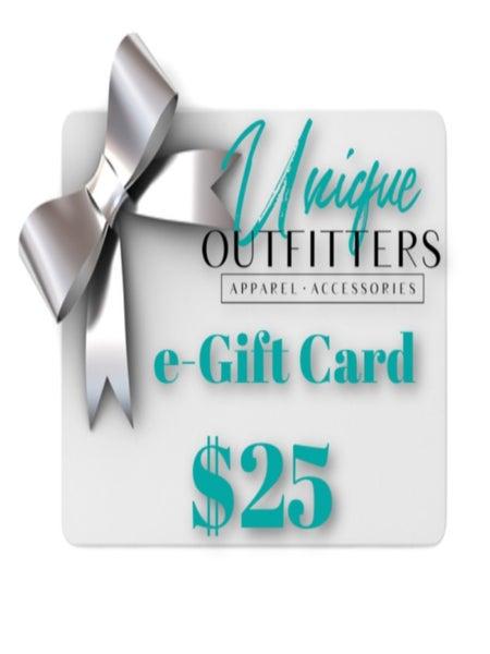 $25 UO E-GIFT CARD