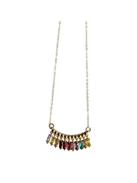 "LOVE POPPY - ""COLORS OF THE RAINBOW"" NECKLACE"