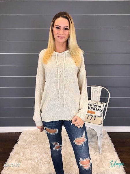OVERSIZED SWEATER PULLOVER  TOP *Final Sale*