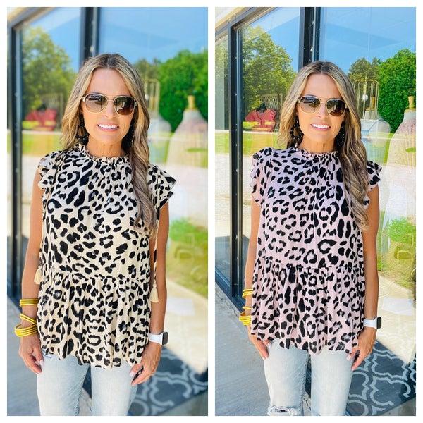 Cheetah Girl Top--SUMMER SALE *Final Sale*