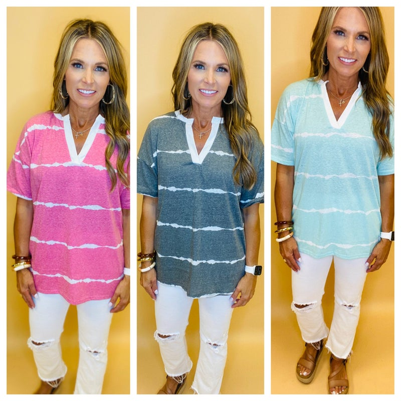 Call on Me Tie Dye Top- FLASH SALE *Final Sale*