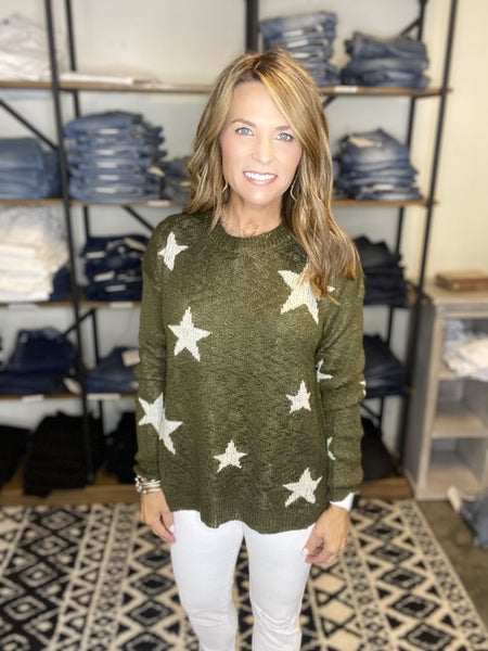 LAST ONE !! The Dane in olive star *Final Sale*