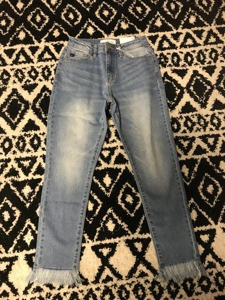 LAST PAIR !!!The Marley Kancan frayed boyfriend jeans *Final Sale*