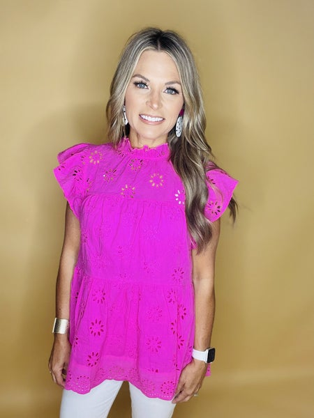 ASK ME AGAIN IN HOT PINK--LAST ONE SALE *Final Sale*