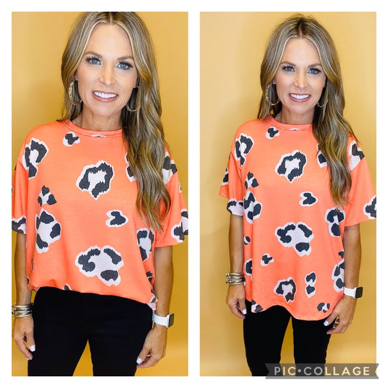Nothing to Lose Leopard Top