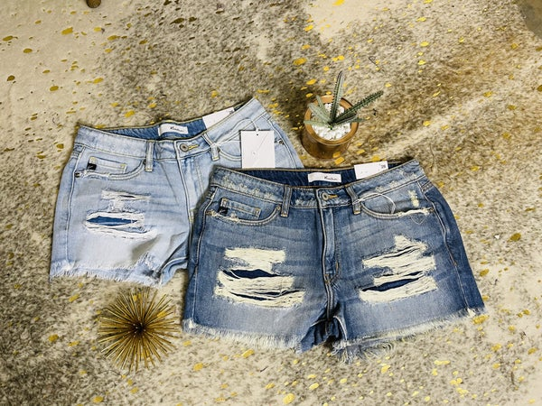 Coast to Coast Denim Shorts---SUMMER SALE *Final Sale*