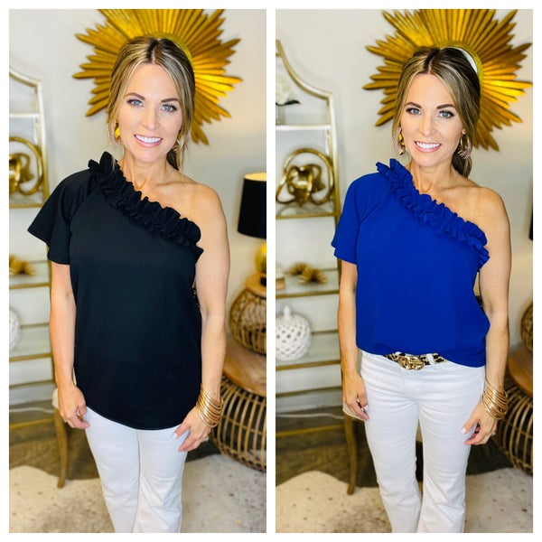 RIVERA ON POINT TOP--SUMMER SALE *Final Sale*