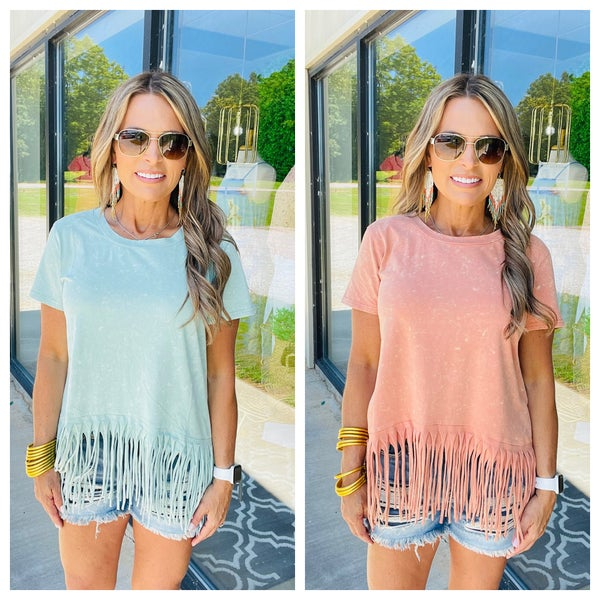 STANDING OUT TOP----SUMMER SALE *Final Sale*