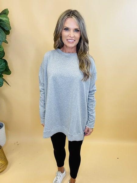 Good as Gone Gray Sweatshirt