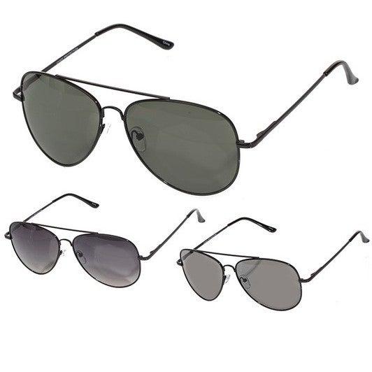 Double Bridge Aviator Fashion Sunglasses