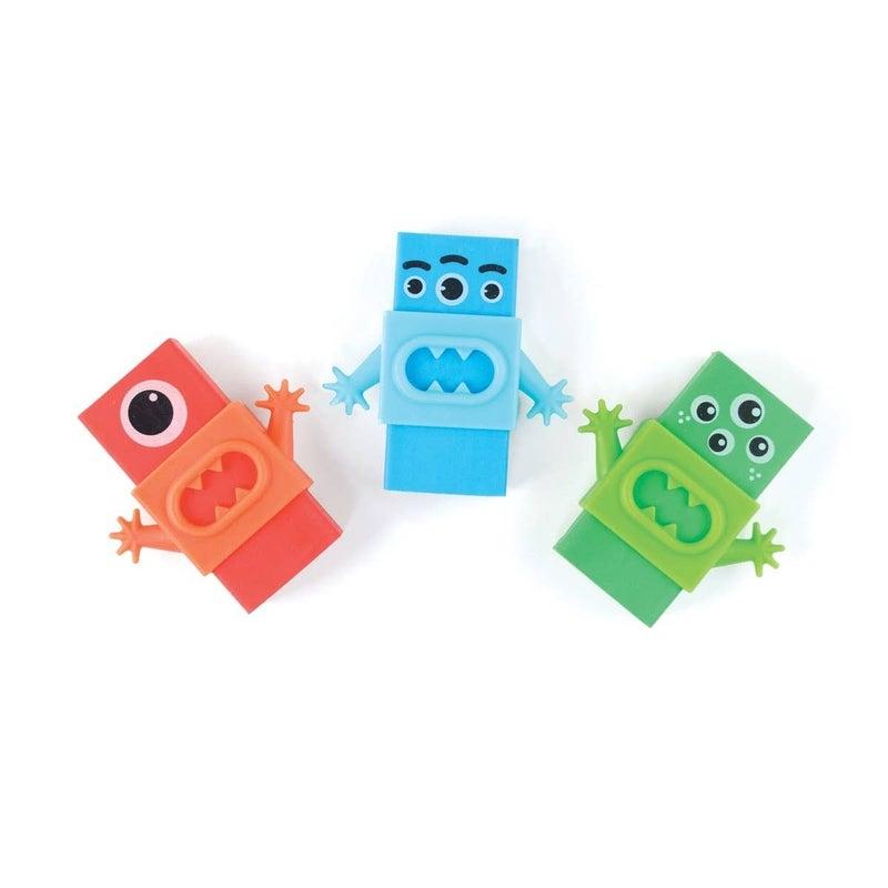 Monster Erasers - Set of 3