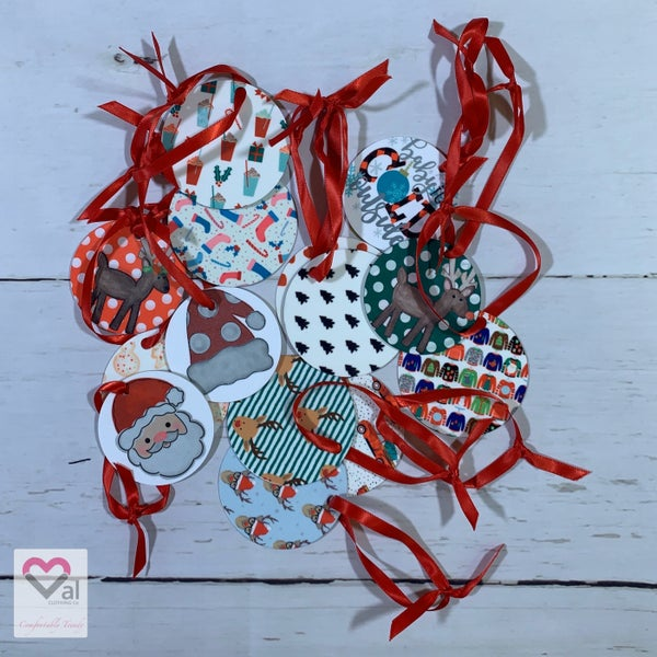 Holiday Assorted Circle Ornaments