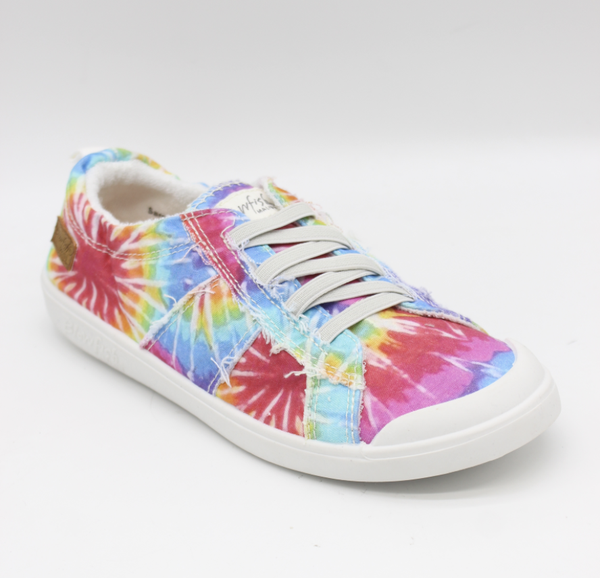 Blowfish Low Top Hippie Tie Dye Elastic Vex Sneakers