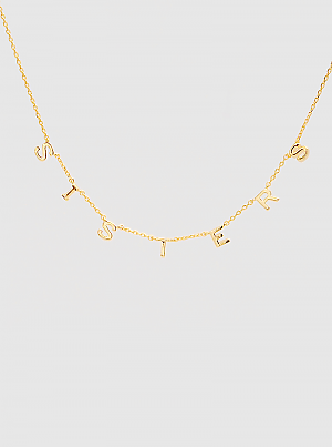 Sisters Delicate Necklace